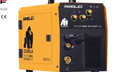 IWELD Pocketmig 215 Aluflux
