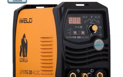 IWELD SUPERTIG 200 AC-DC profesionistul sub acoperire