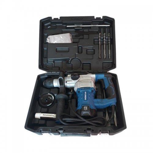 Ciocan rotopercutor Hyundai BH 3-30 in valiza cu accesorii