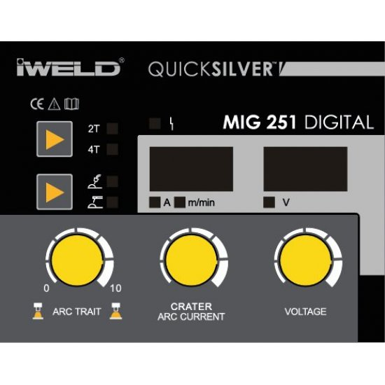IWELD MIG 251 DIGITAL