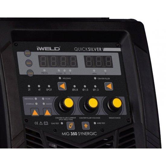 IWELD MIG 350 Synergic, 350A, derulator separat