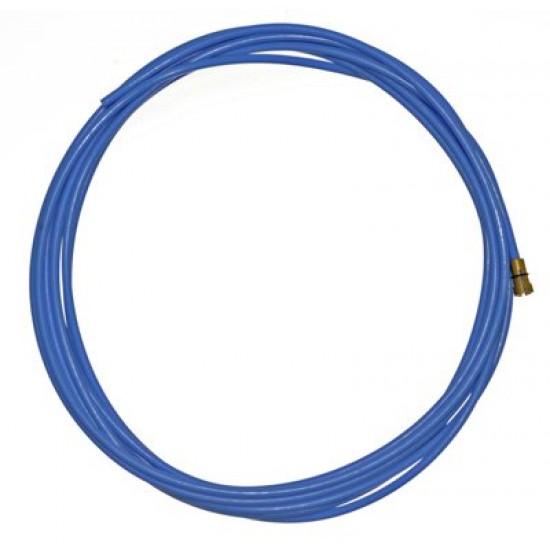 Linere din teflon 0,8-1,0-4m albastru