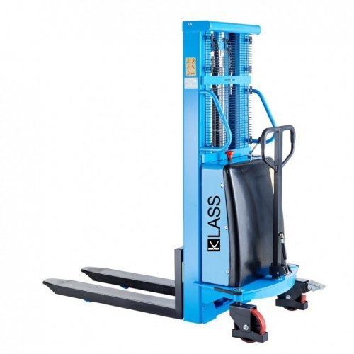 STIVUITOR SEMI-ELECTRIC SPN1016 , CAP. 1.000 KG, H: 1600mm