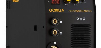 IWELD Gorilla Pocketmig 215 Aluflux 2020