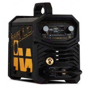 IWELD POCKETMIG 225 Synergic, aparat de sudura semi-profesional, 220A, 230V, otel, inox si aluminiu, synergic si accesorii incluse