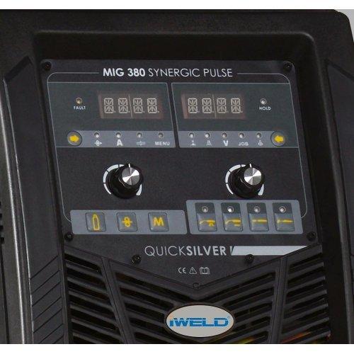 IWELD MIG 380 Synergic Pulse, 350A, accesorii