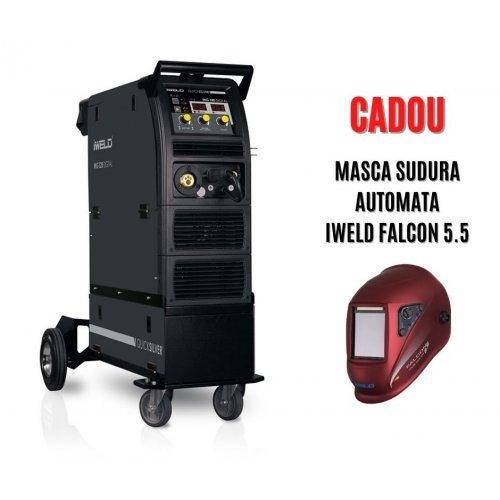 IWELD MIG 320 DIGITAL Aparat de sudura profesional MIG MAG / MMA, 300A, 400V, accesorii incluse