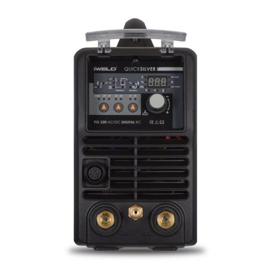 IWELD TIG 220 AC/DC Digital, 200A, 220V, accesorii incluse