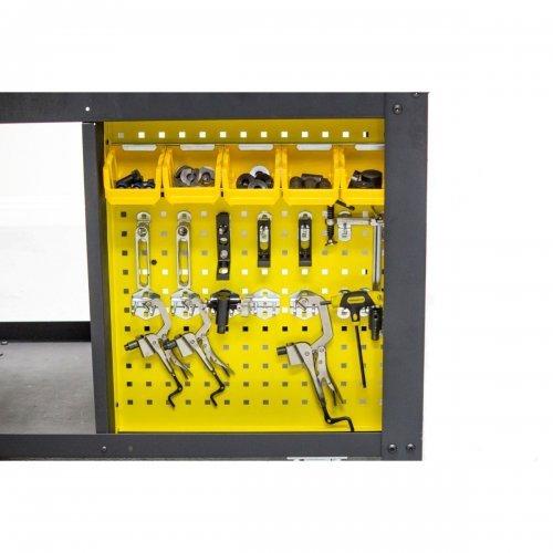 KIT Banc de Sudura PROFESIONAL + 122 Accesorii, Rhino Cart®, TDQ612075-K2