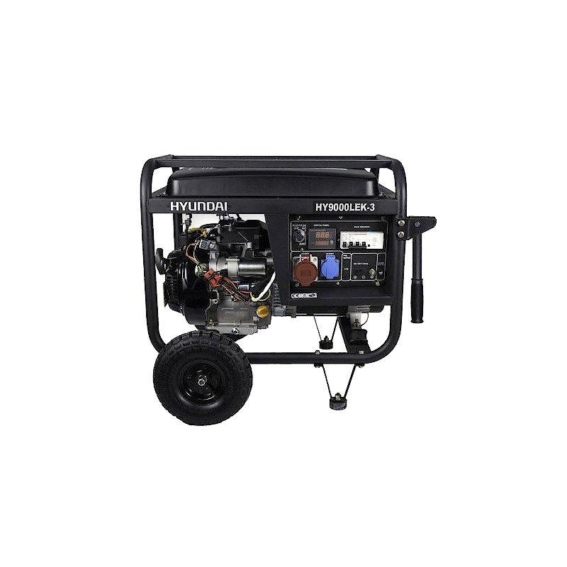 Generator Curent Trifazic HYUNDAI HY9000LEK-3