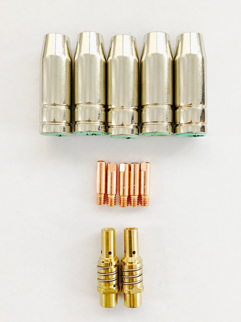 SET 5 Consumabile Pistolet MIG 150A