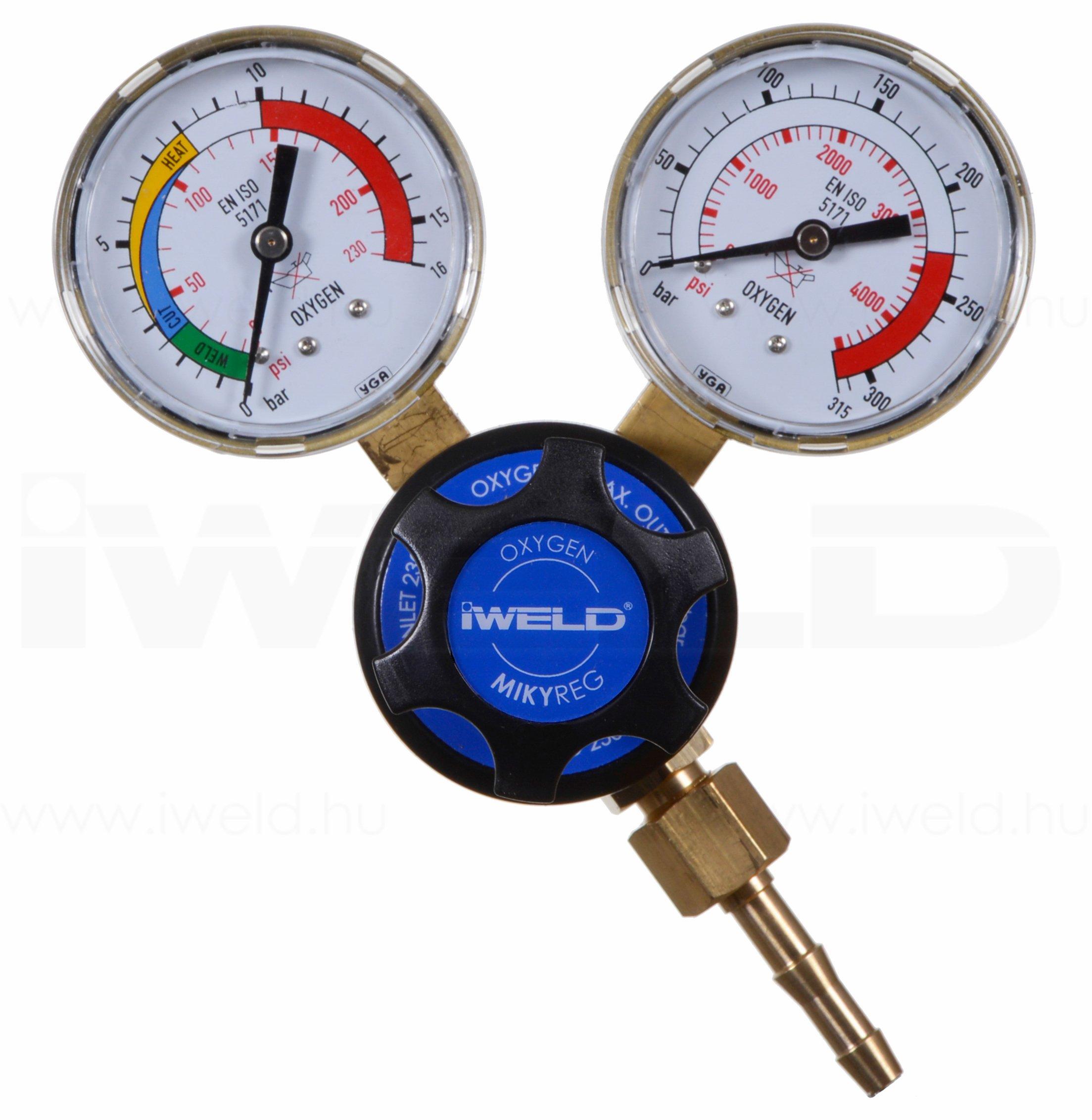 Mini Reductor Oxigen IWLED MIKYREG 230 10 bar