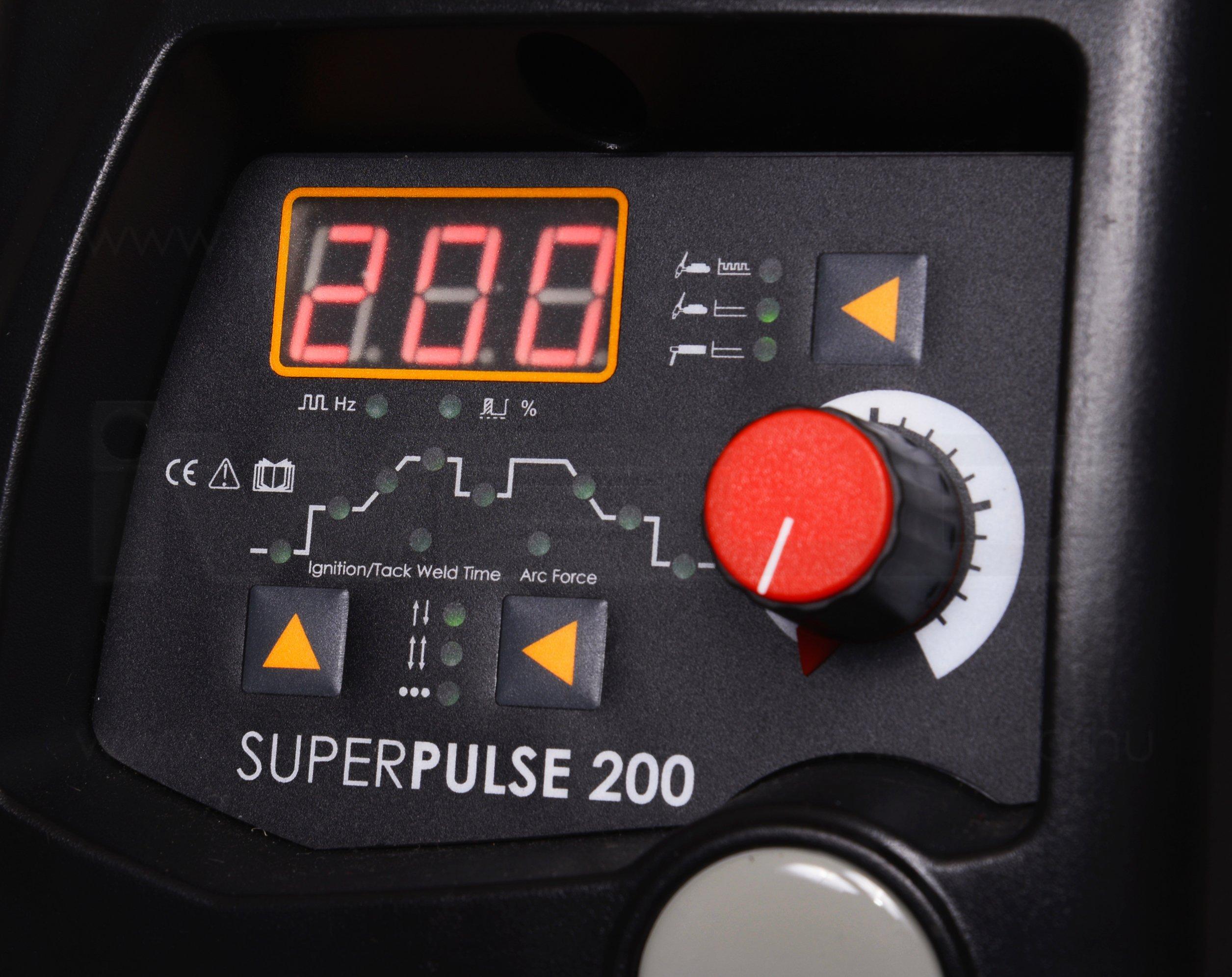 IWELD Gorilla SuperPULSE 200