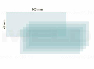 Protectie Interioara Masca de Sudura 103 x 42 mm