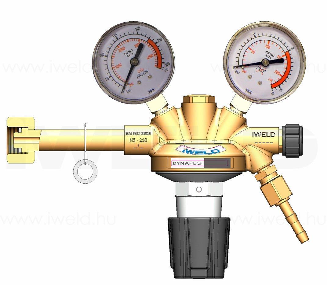 Reductor ARGON CO2 230/10bar
