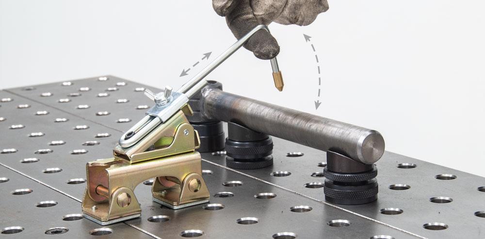 Cosas magnetic pentru sudura, forta de tinere 8kg, Strong Hand Tools AGH200