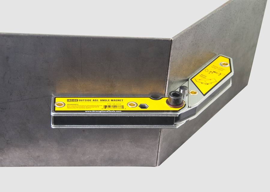 Vinclu int./ext. ajustabil pentru sudura in unghi 30-270°, forta 15kg, MLA600