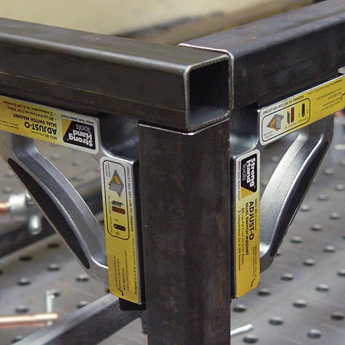 Vinclu Magnetic cu doua comutatoare, 55 kg Forta, Strong Hand Tools MS2-80